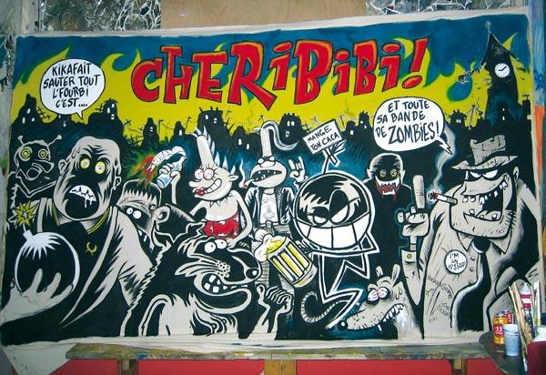 La fresque Chéribibi