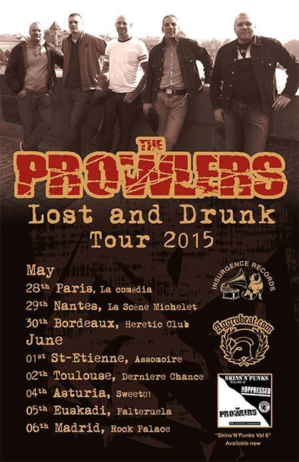 Prowlers Tour