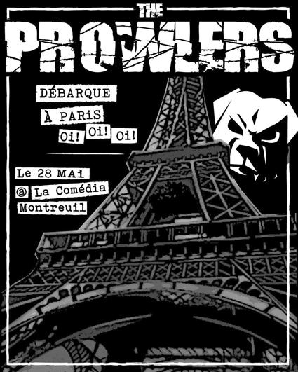 Prowlers à Paris
