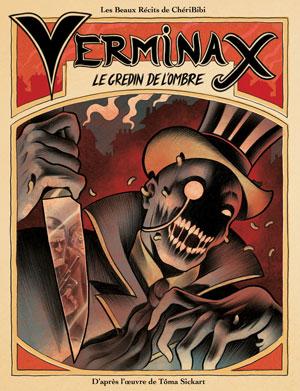 La couverture de la BD Verminax